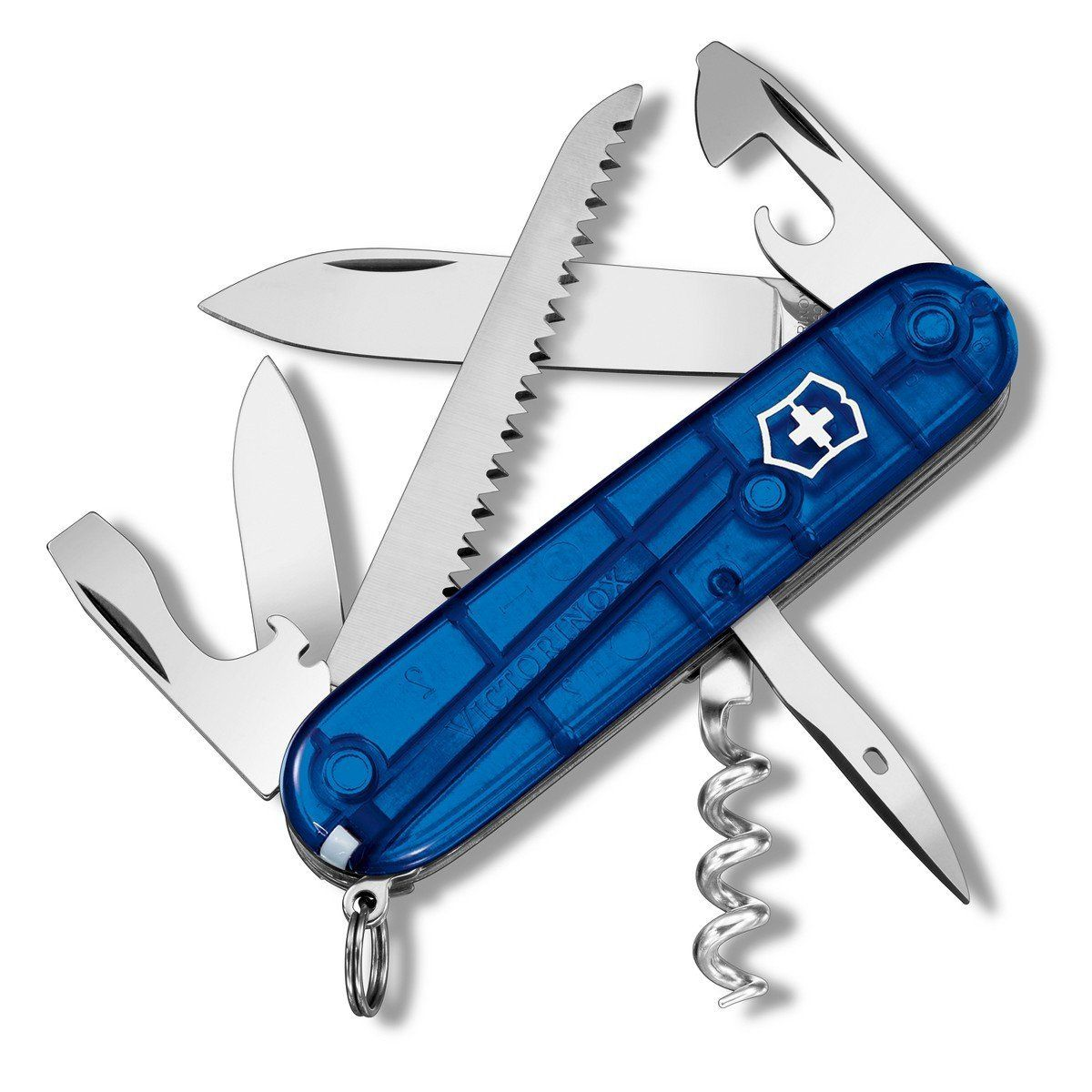 Victorinox Swiss Army Camper Knife Sapphire This Is