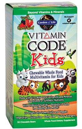 Garden of Life Vitamin Code Kids 30 Chews Stuff to Buy