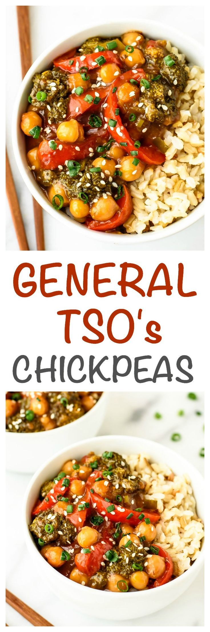 General Tsos Chickpeas A Healthy Easy Vegan Twist On