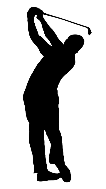 Free Image On Pixabay Golfer Silhouette Swing Golf Cricut Svg
