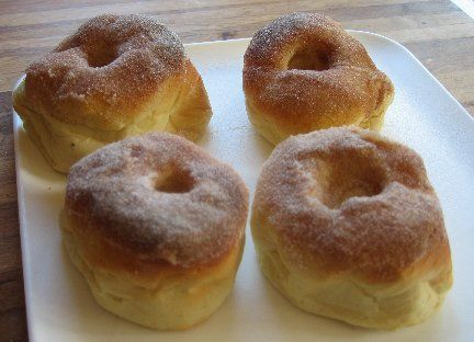 Baked donuts from Whats Cooking America