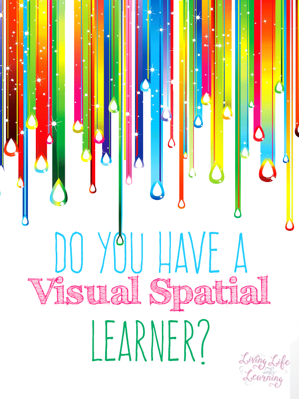 Do you have a visual spatial learner, how can you tell and which homeschool curriculum for visual learners should you use so your child will thrive?  #homeschool #homeschoolcurriculum #visuallearners
