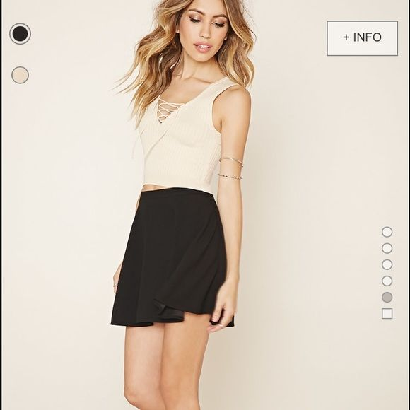 Classic Skater Skirt A classic staple in every girls closet ✌️ Forever 21 Skirts Circle & Skater