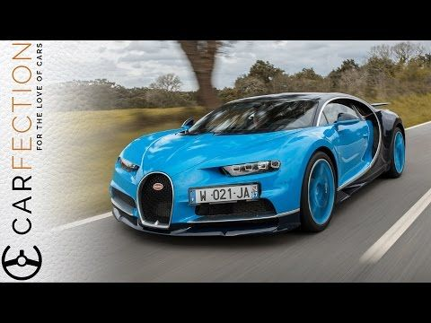 bugatti chiron: world's first video review - carfection - youtube