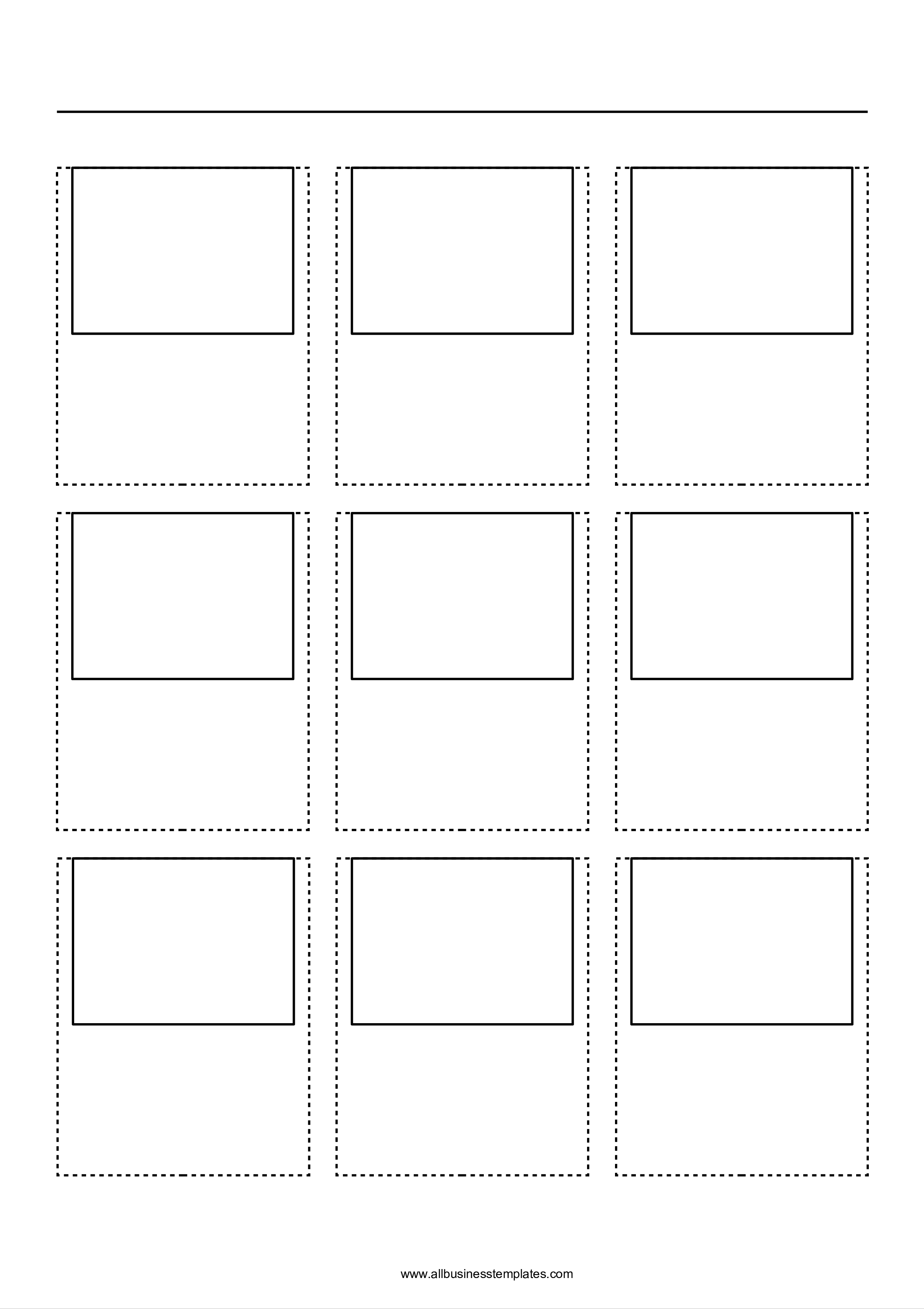 Movie Story Board 3x3 How To Produce A Movie Storyboard For Film And Video Download This Professional Free A4 Movie Storyboard Template Templates Storyboard