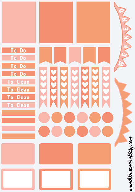 Free Printable Template To Create Your Own Diy Erin Condren Life