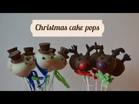 (40) DIY- Christmas cake pops - YouTube