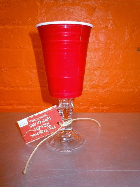 Kuh-lassy Red Solo Cup.