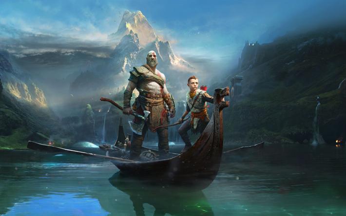 Lataa kuva God Of War 4, toiminta, seikkailu, 2018 pelejä
