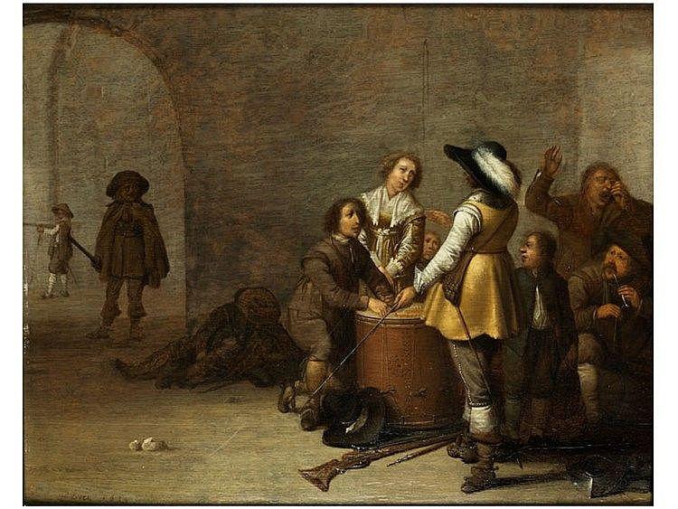Jacob Duck, 1600 Holland – 1660 Utrecht, zug.