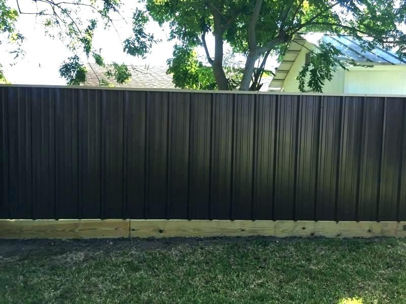 Popular Today Corrugated Metal Fence Panels Corrugated Metal