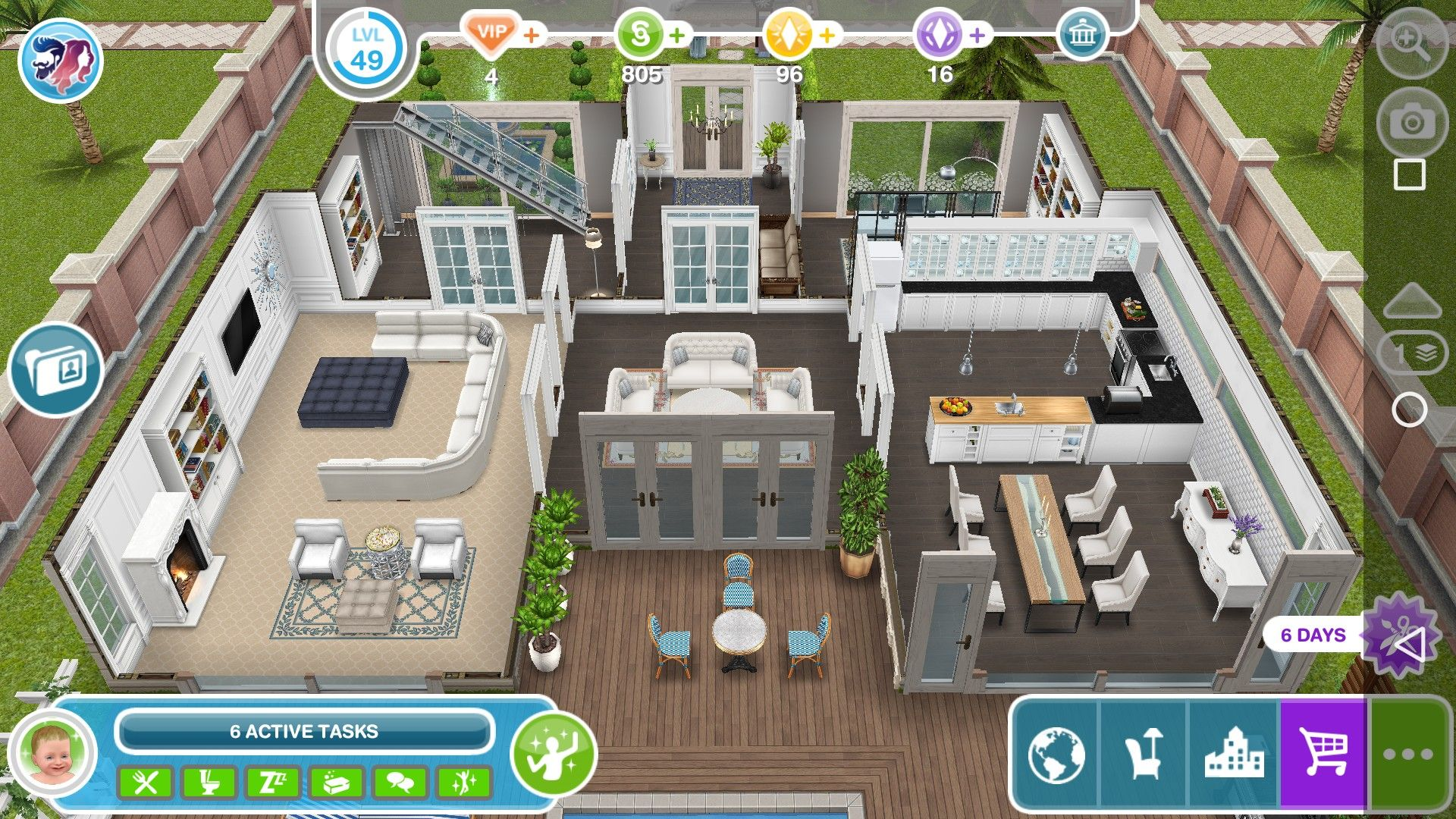 Home Lot Sims Freeplay Sims House Sims Freeplay Houses Sims House Plans