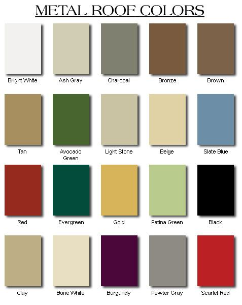 Best How Will I Ever Choose Metal Roof Colors Roof Colors 400 x 300