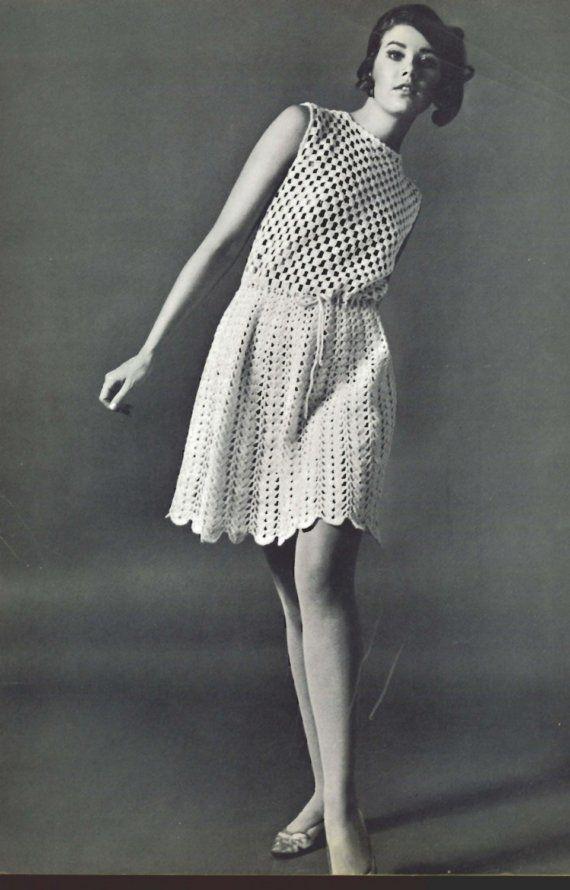 Crochet Openwork Dress Pattern PDF by suerock on Etsy, $4.25 ...