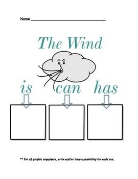 Wind, Weather, and Clouds: Readers, Phonics, Organizers: C