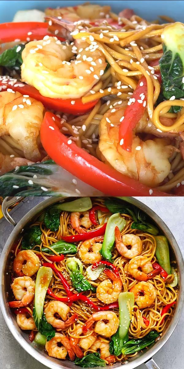 Photo of Shrimp lo mein – #