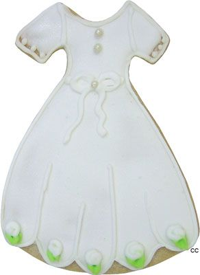 Communion Dress Cookie Cutter