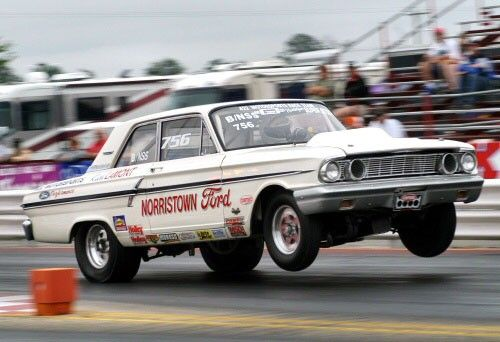 Ford S Drag Racing Only Thunderbolt Only 120 Units Were Produced