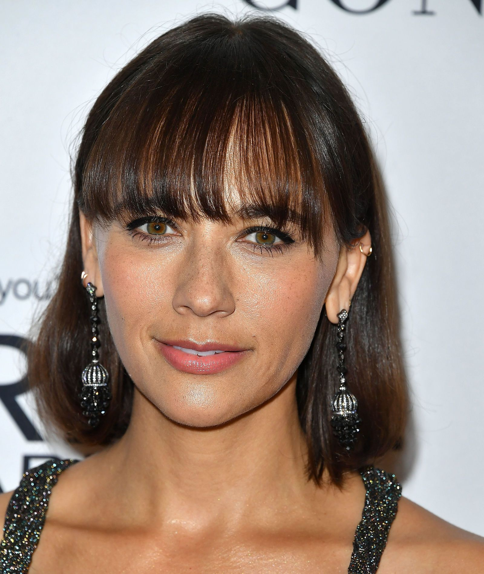 Wedding Hairstyle For Square Face: 32 Celebrity Bangs For Inspiration