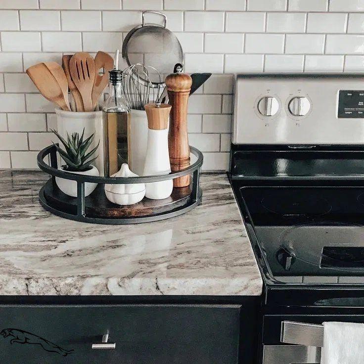 12 Elegant Kitchen Desk Organizer Ideas To Look Neat #décorationmaison #kucheideen