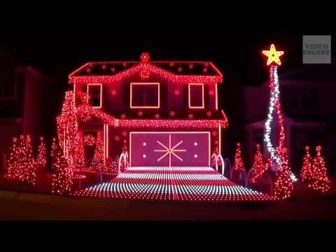 Christmas Lights Australia 2013 Youtube Outdoor Christmas Lights Christmas Lights Christmas Display