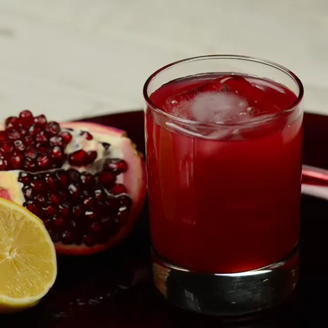 Photo of POMEGRANATE WHISKEY SOUR