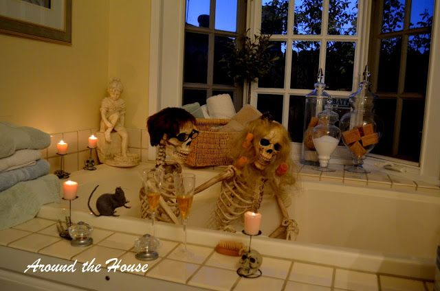 Around the House VIP HORS D\u0027 OEUVRE PARTY Halloween - halloween decorations party