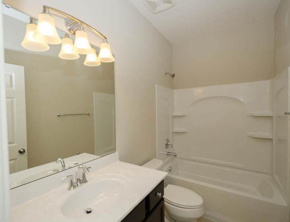 White Included Sterling 4 Piece Tub/Shower Combo In Lieu Of Wall Tile