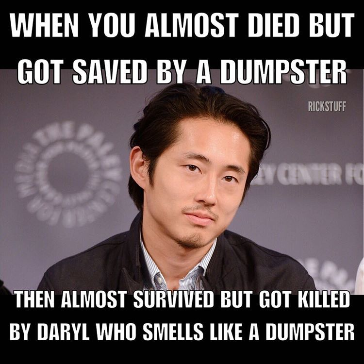 The Walking Dead Funny Meme With Images The Walking Dead