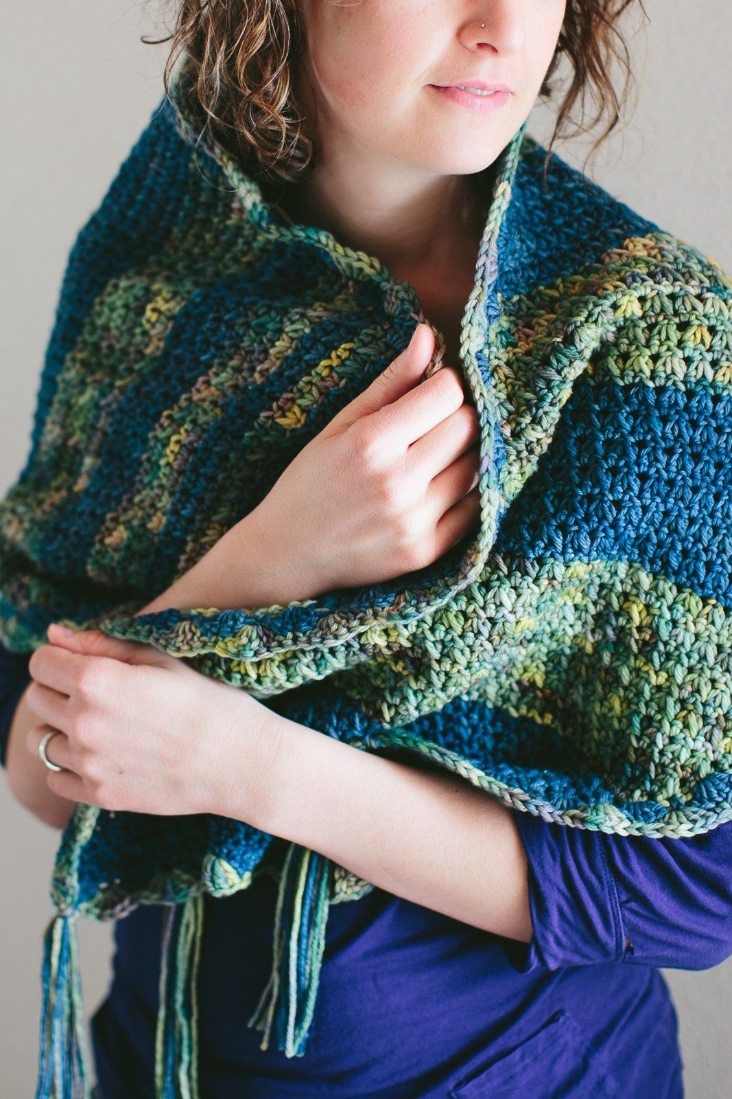 Prayer shawl-04 | Proyectos que intentar | Pinterest