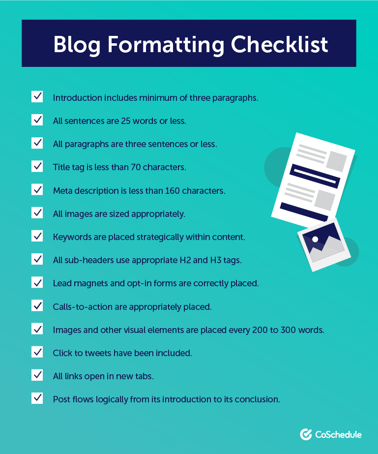 The Best Blog Format To Improve Every Post Includes Templates Blog Post Template Blog Planning Blog Planning Template