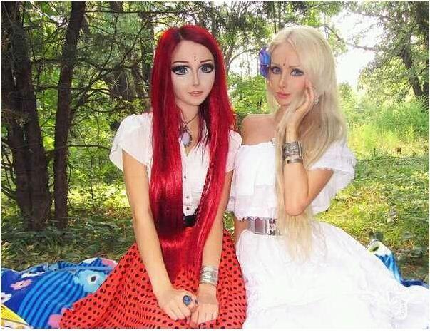 girl barbie Real anime life and