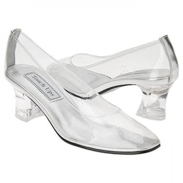 Clear Touch Ups Cinderella Bridal Shoes 63 Liked On Polyvore Featuring