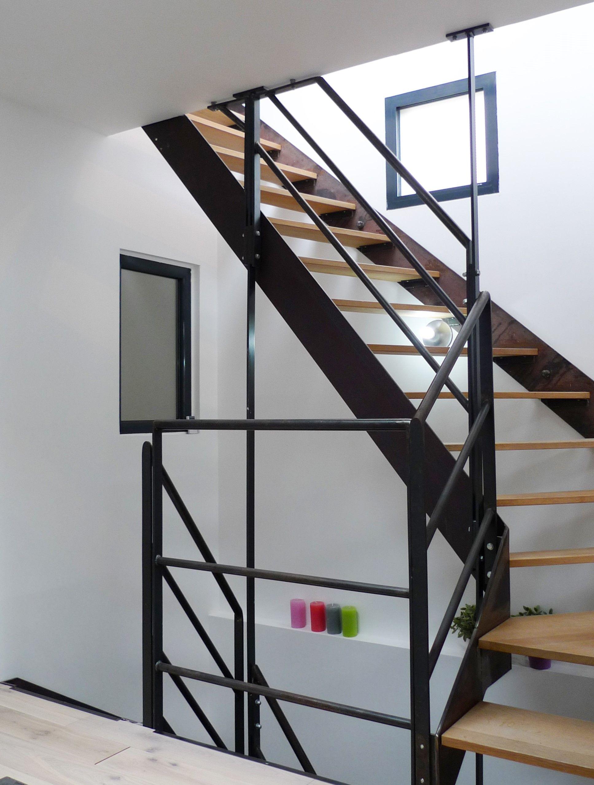Escalier Metal Bois Sans Contre Marche 樓梯 Pinterest Future