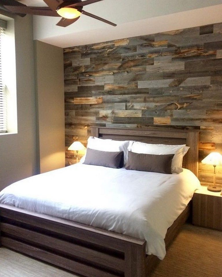 Pallet Wall Ideas Bedroom: 70+ Marvelous Pallet Furniture Ideas