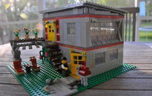 Vote For Your Favorites In Dwell S Lego Modern Home Design Contest