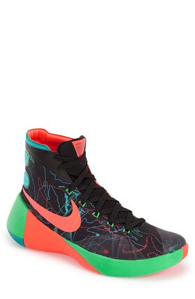 outlet store 024ab 0610b NIKE  Hyperdunk 2015 Prm  Basketball Shoe (Men).  nike  shoes  wedge  lace   lining  round toe  platform  ankle hight  sneakers  high top  low top