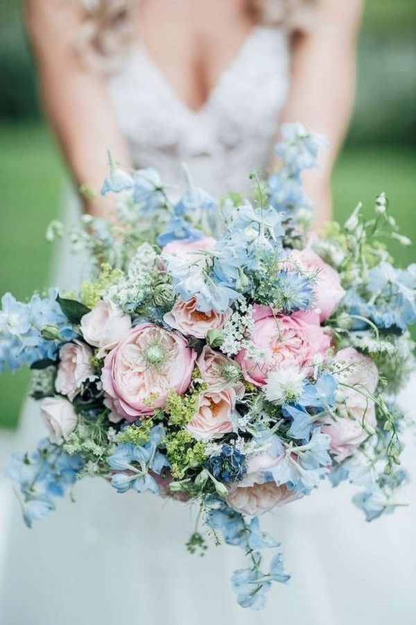 30+ Dreamy Dusty Blue and Blush Wedding Color Combo Ideas for 2020 Trends – Elegantweddinginvites.com Blog