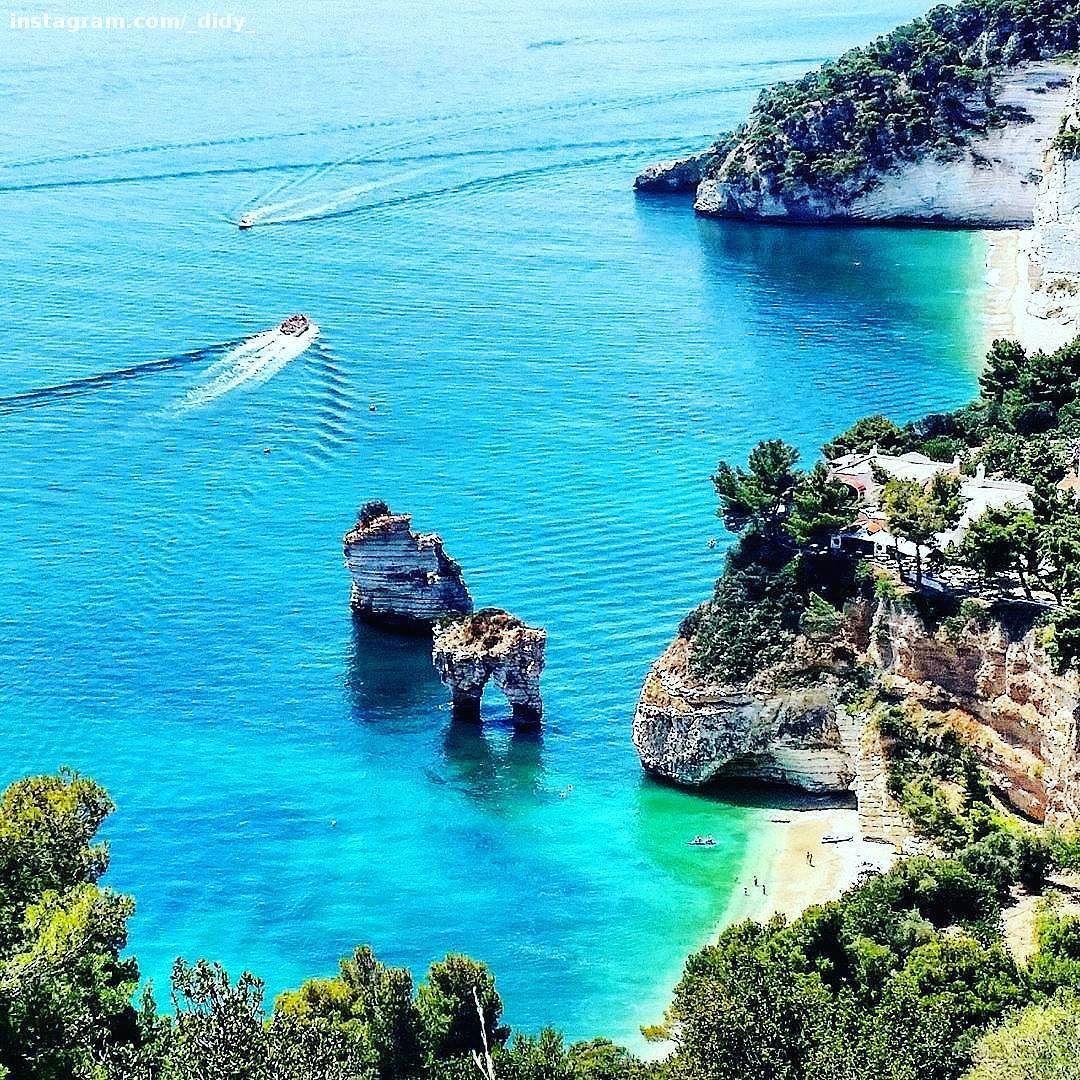 Gargano #Apulia #Italy  #sea #beach