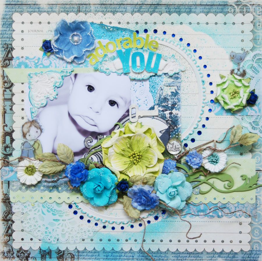 Adorable You - Scrapbook.com