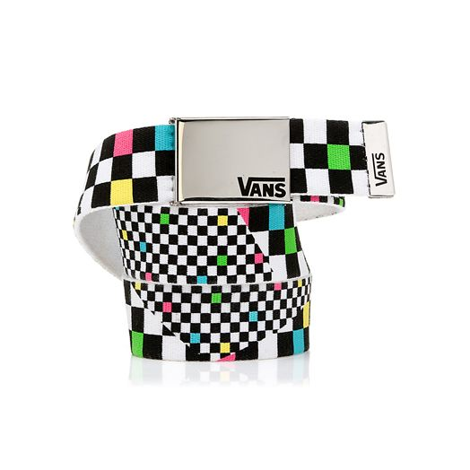 bdb7050ec6 Vans checkered belt