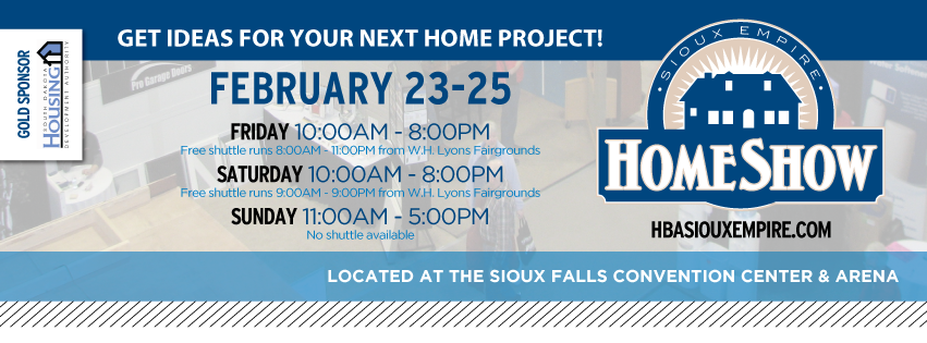 We'll Be There, Will You? The 2018 Sioux Empire Home Show