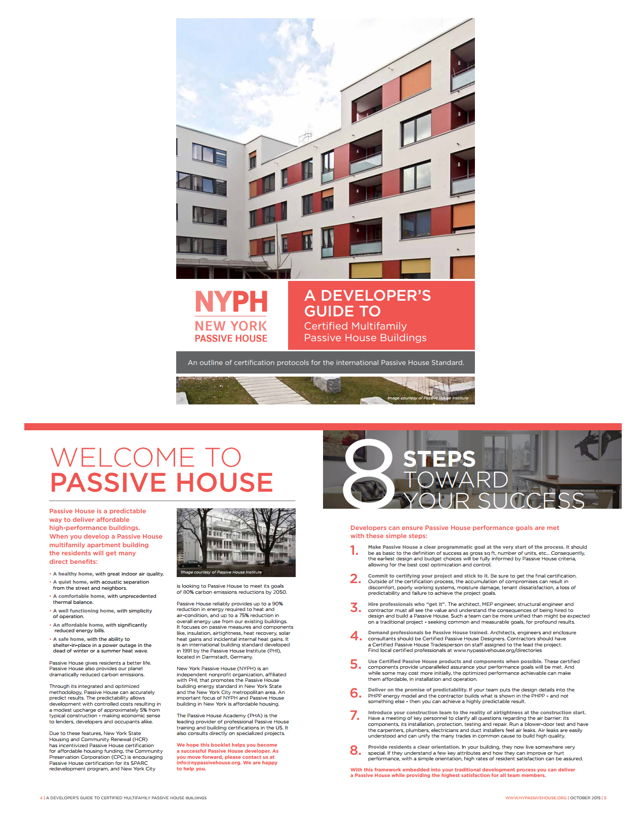 Developers Guide To Passive House Nyph Passive House