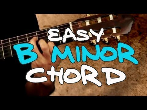 Easy B minor (Bm) Chord - Real Beginning Guitar Lessons | guitar ...