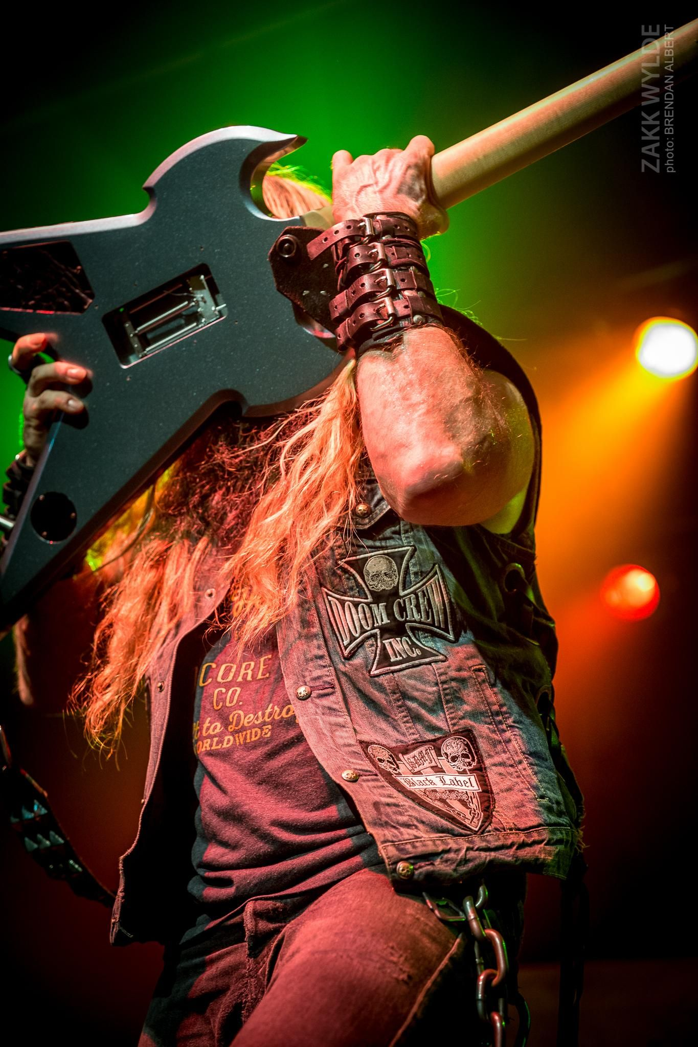 ZAKK WYLDE Guitar god doing his thing Shot by me