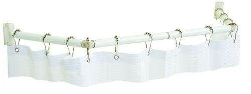 stromberg carlson extend-a-shower shower curtain rod for rvs - 35