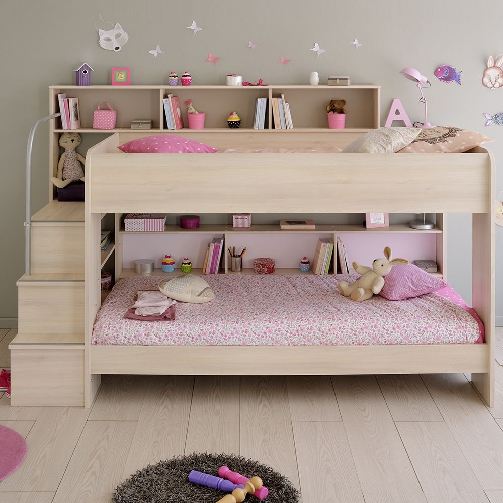 Annora - Bunk Bed ACACIA  Childrens Beds  Bedroom  Lits