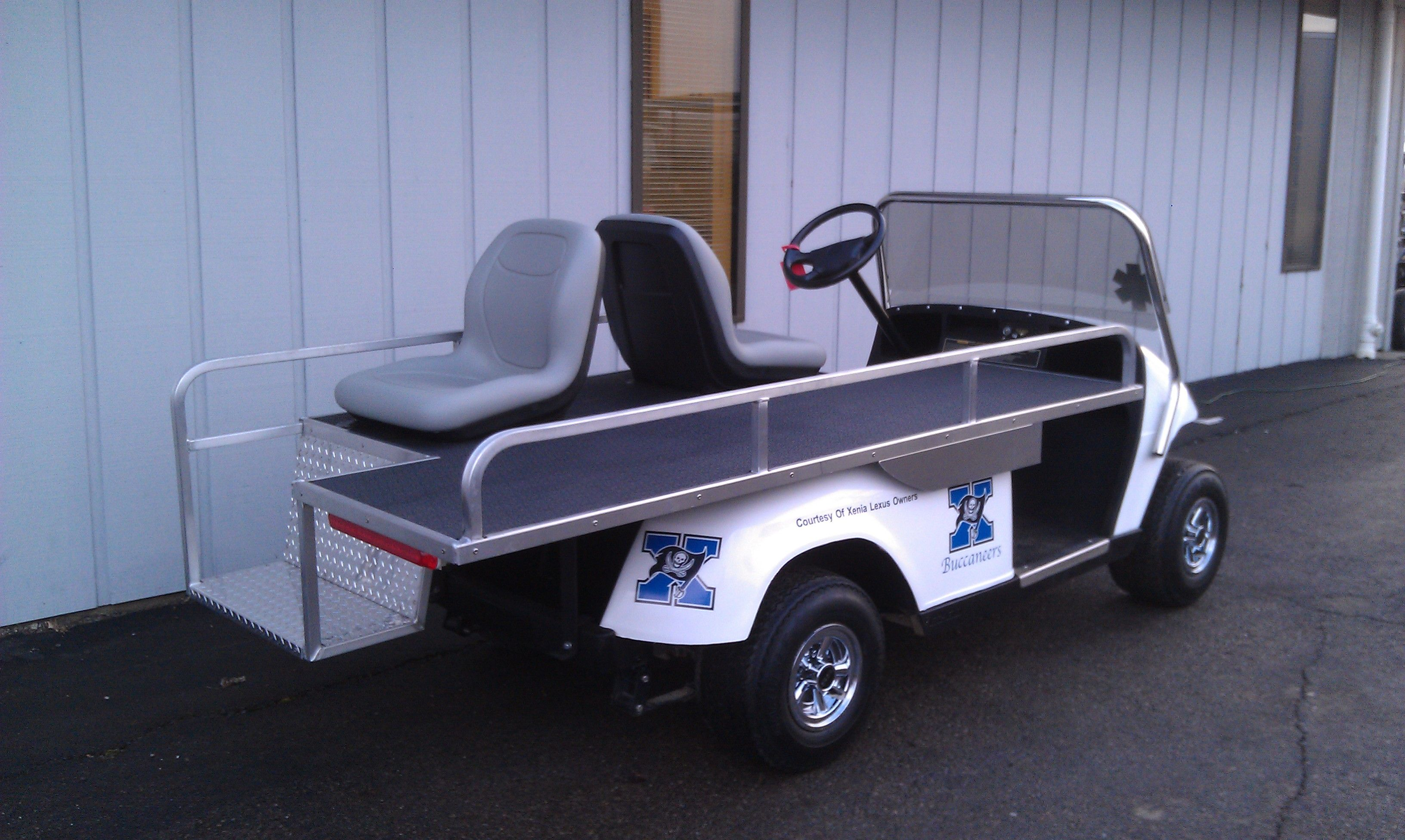 Whatever The Job We Can Build A Cart To Do It We Recently Completed This Ambulance Cart For Xenia City Schools Custom Golf Carts Utility Vehicles Powersports