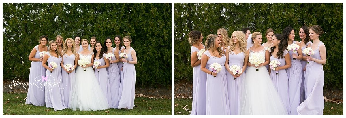 bridesmaids picture idea, purple bridesmaids dresses, lavender dresses, bridesmaids photo