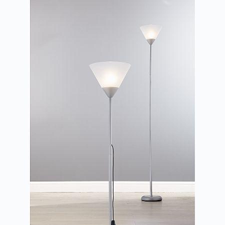 ASDA Silver Uplighter Floor Lamp | Ideas for the House | Pinterest ...